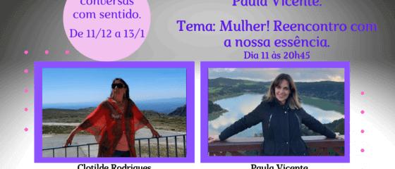 Ciclo com Mulheres Paula Vicente