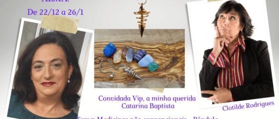 Ciclo conversas Catarina Baptista